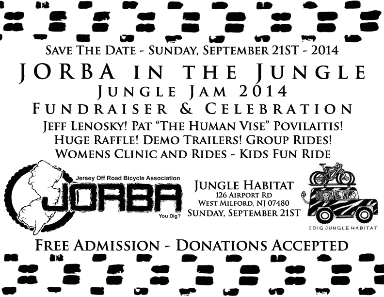 JORBA in the Jungle - Jungle Jam 2014 - Save The Date!-junglejamsavethedate.jpg