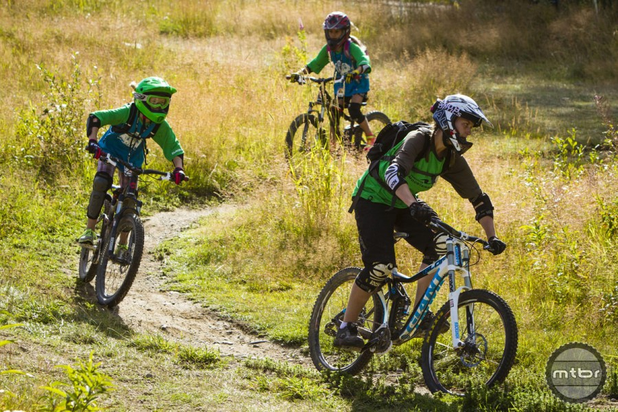 Whistler Mountain Bike Park offers summer long, week long, and day lessons for kids. Photo courtesy Whistler Mountain Bike Park/Justa Jeskova