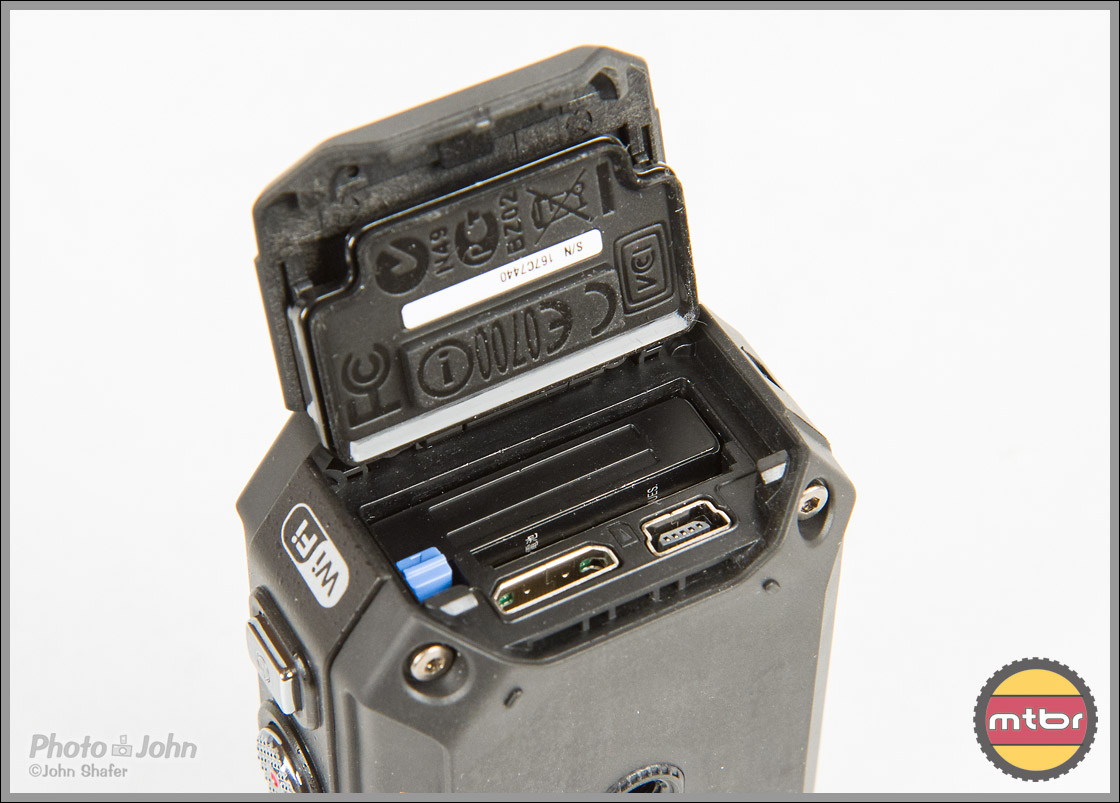 JVC Adixxion POV Camera - Battery Compartment