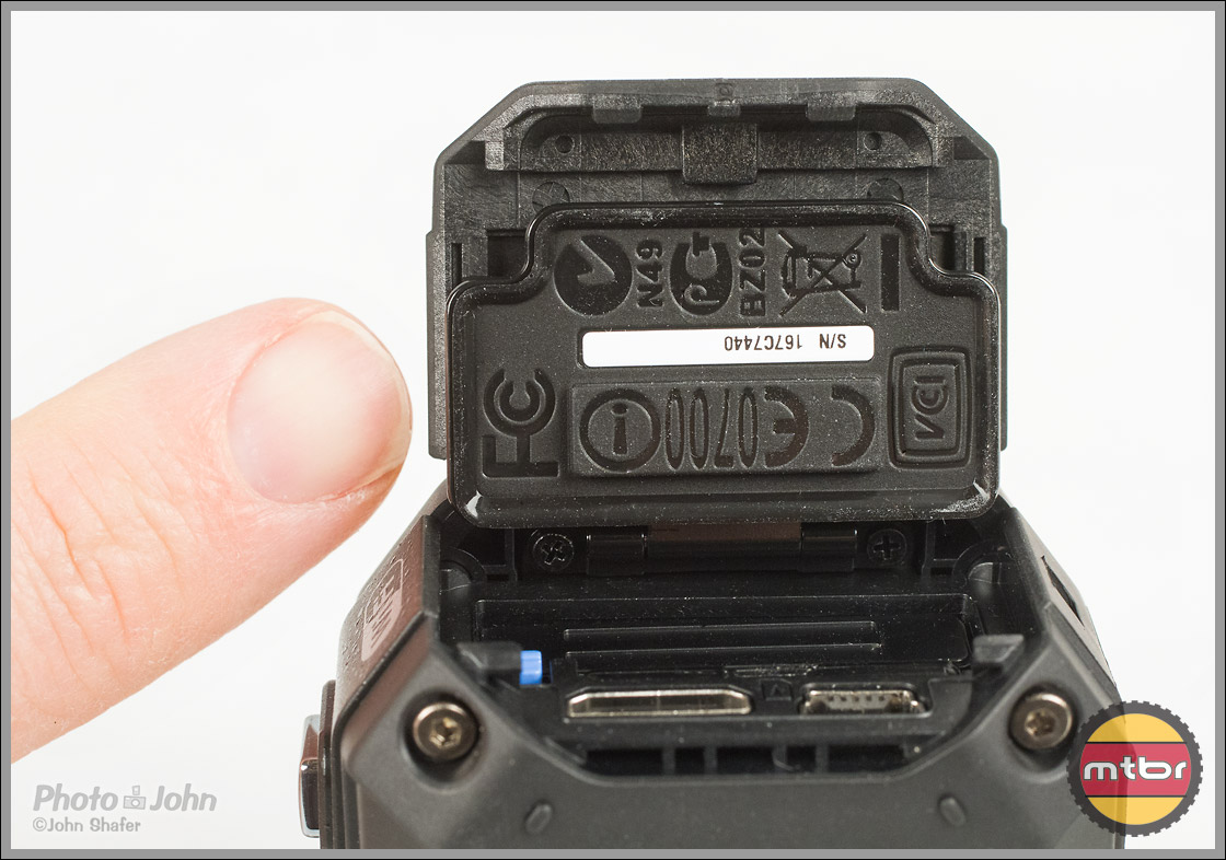 JVC Adixxion POV Camera - Waterproof Battery Compartment Door