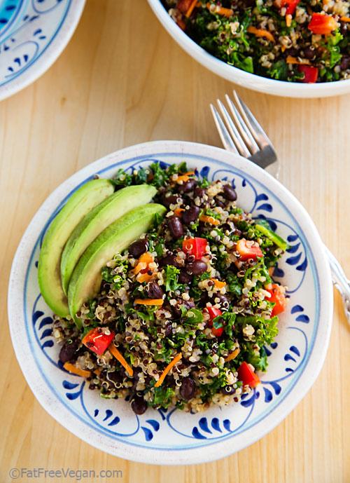 Vegetarian / Vegan / Raw recipes & chat-kale-quinoa-salad1.jpg