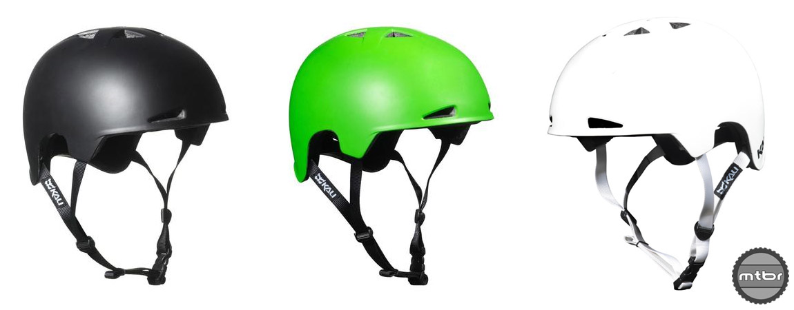 The Kali Viva is a skate style lid with bike helmet safety.  Available in 3 colors.