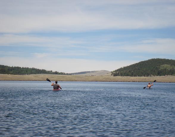 Big Lake, Thompson Trail-kayak-time-mtbr.jpg