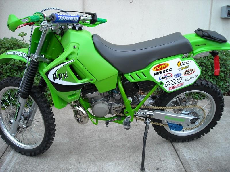 My other bike is a 1989 KDX 200- Mtbr com
