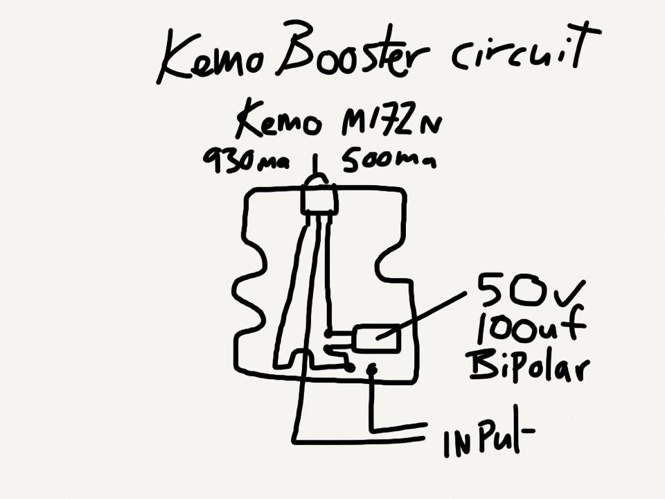 Kemo M172n USB dynamo charger modding-kemo-booster.jpg