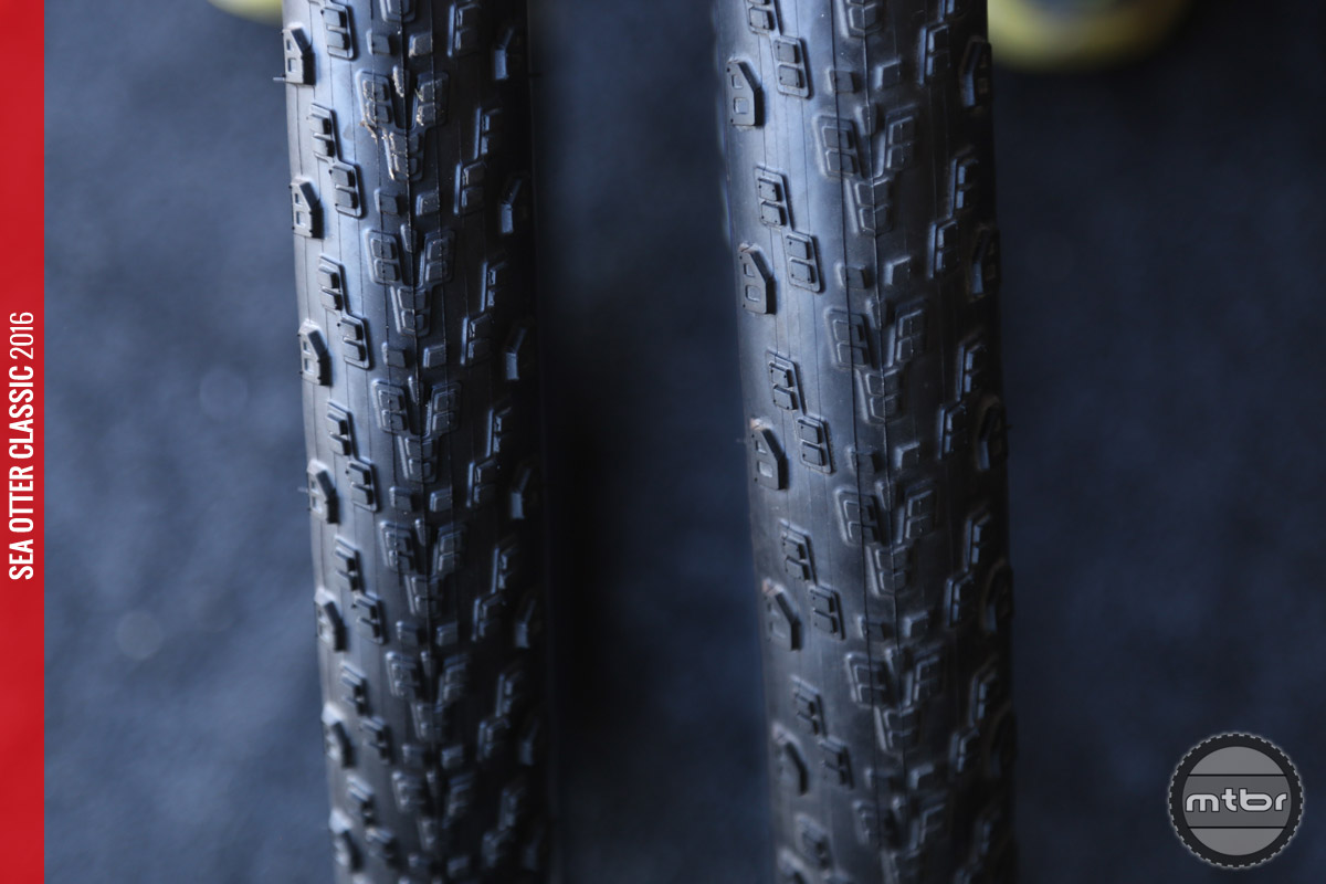 The new Saber Pro is a XC race tire that uses Kenda's new ultra low resistance R3C rubber compound.