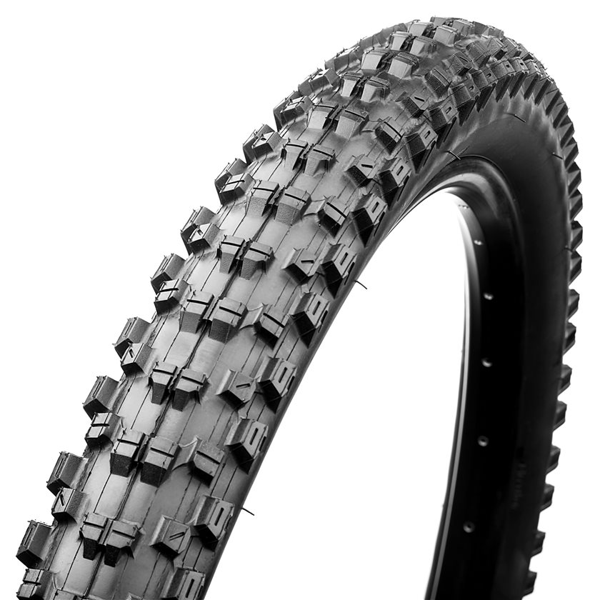 The overall goal was lighter weight tires with the characteristics of a downhill tire.
