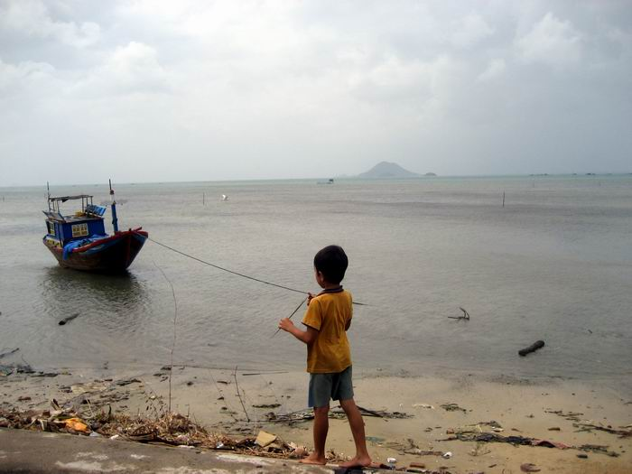 Kid and Boat