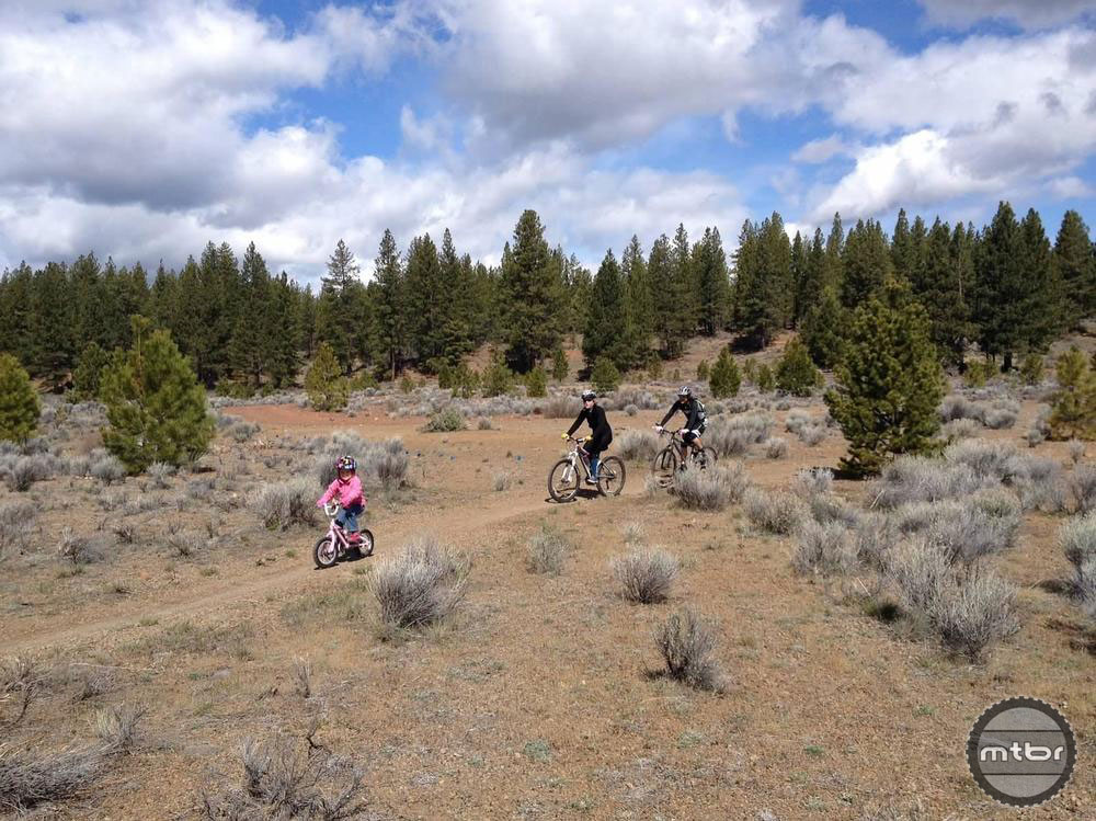 More kids on bikes is good for society, but blanket bans on public lands can discourage youth cycling in mountain communities. Photo courtesy Sustainable Trails Coalition