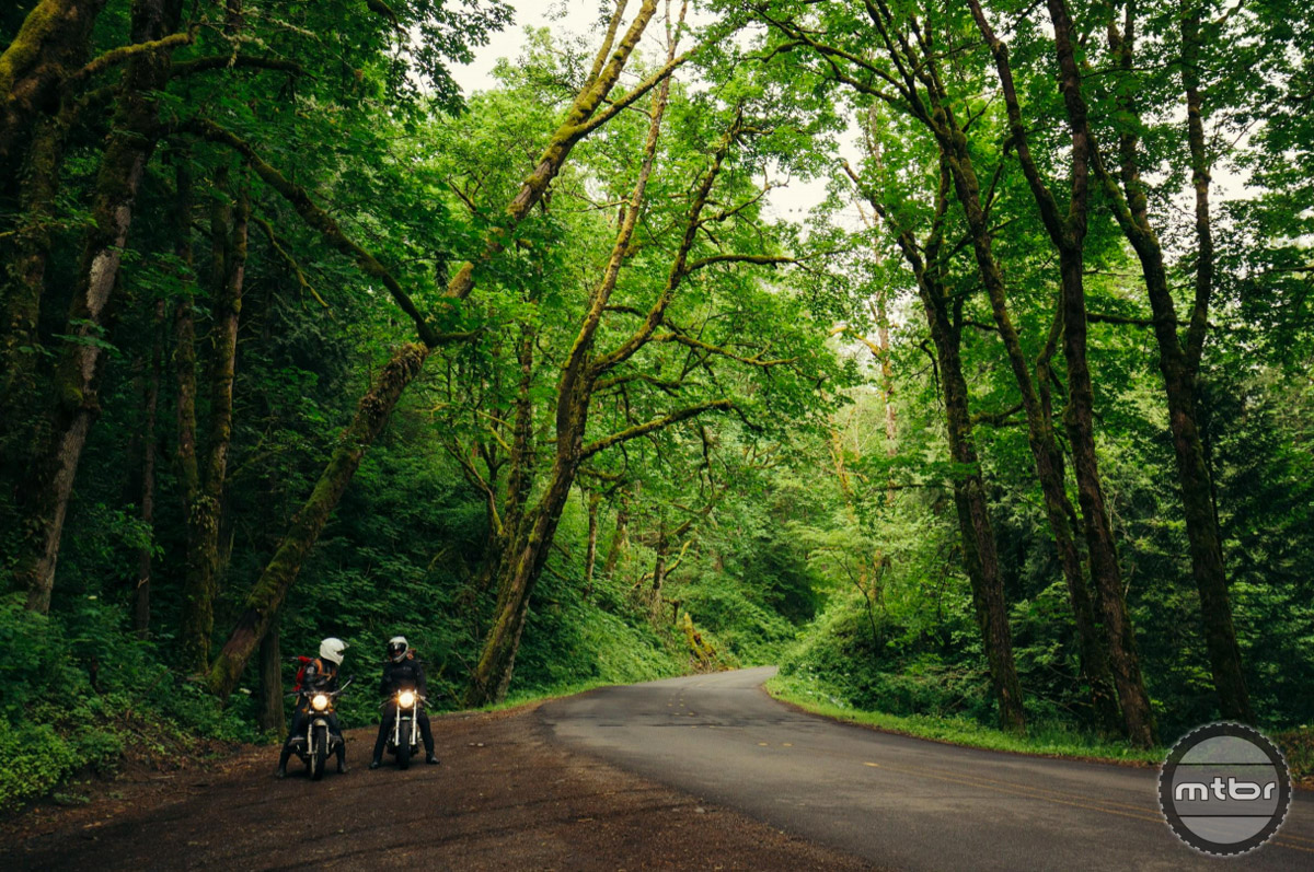 Road like these were made for two-wheeled adventure of all kinds.