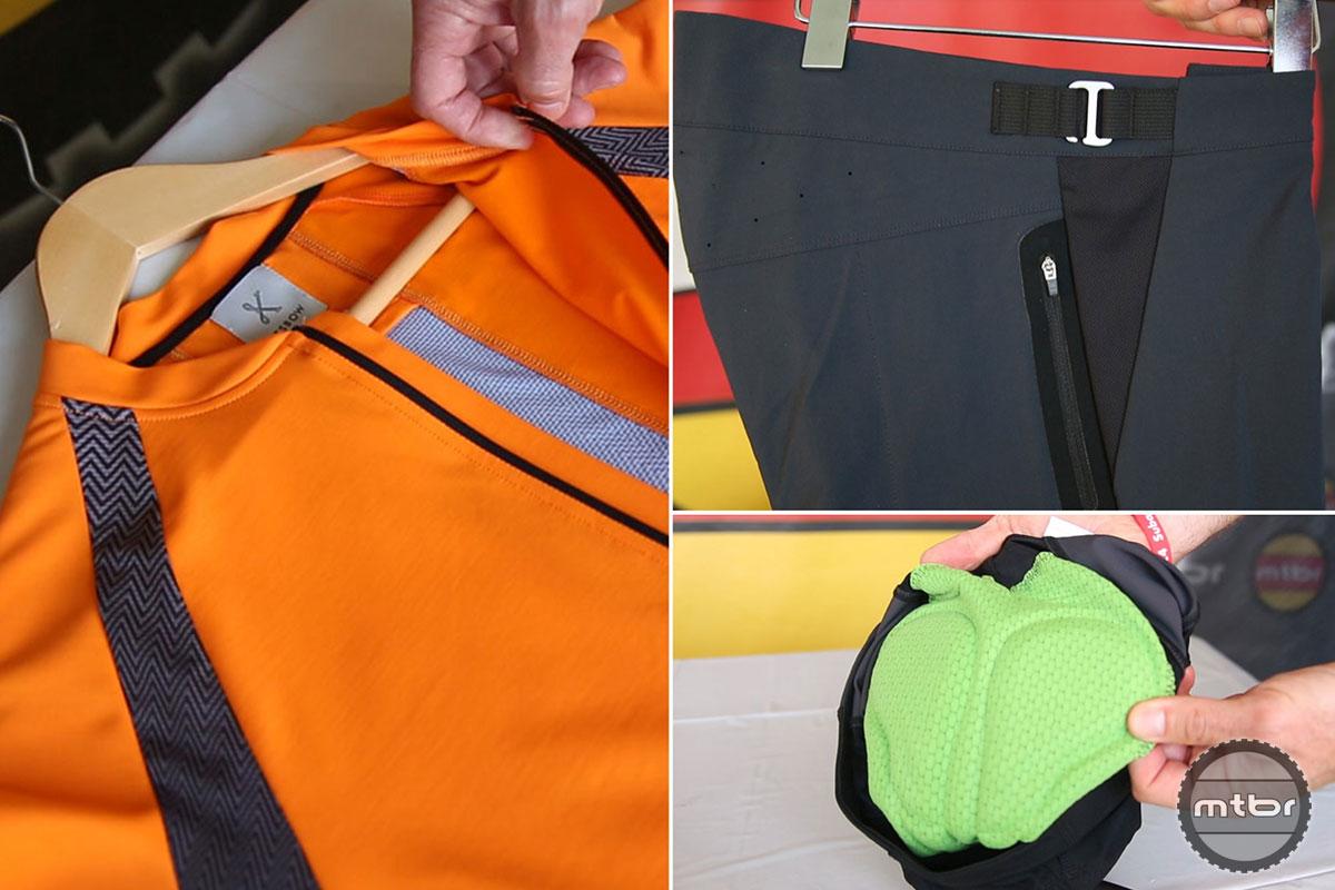 Kitsbow MTB Shorts and Jersey