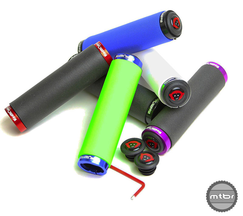 The Klampz are the newest grip from RedMonkey and are lock-on style slilicone grips. MSRP is $28 per pair.