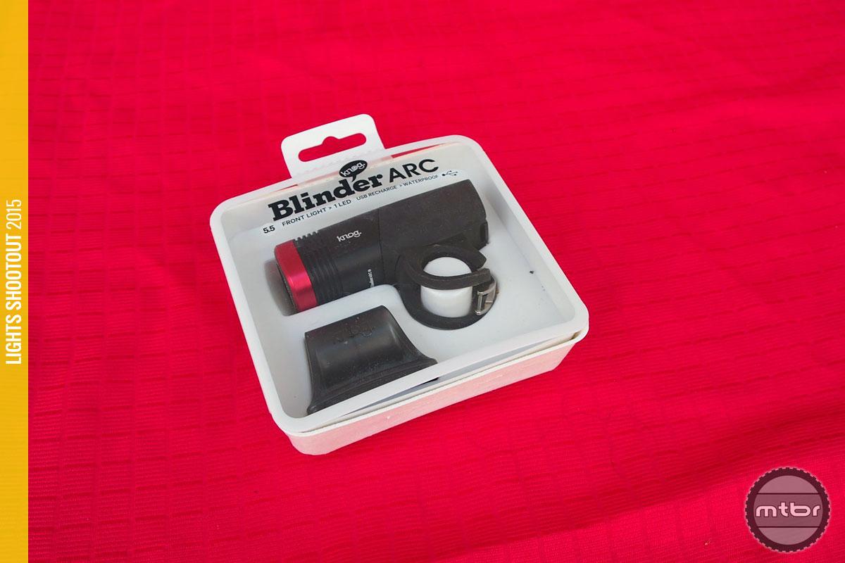 Knog Blinder Arc 5.5 Package