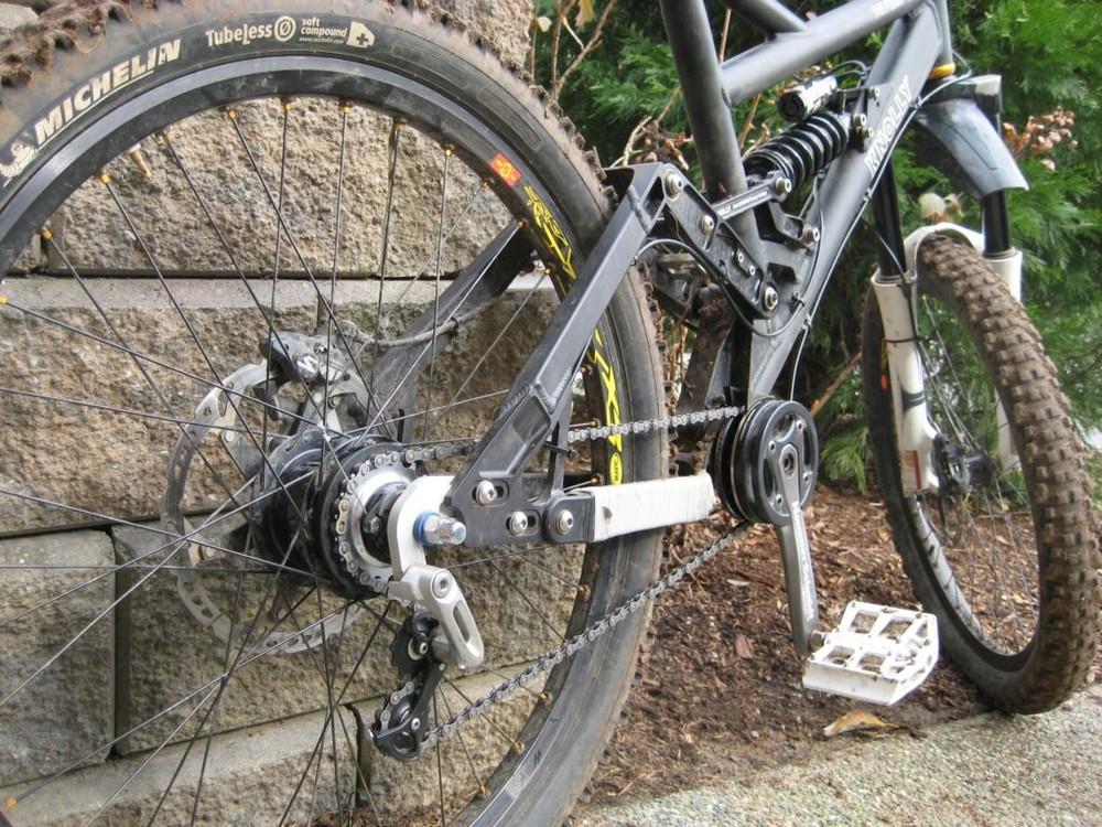 SHIMANO ALFINE CT-S500 BLACK BICYCLE CHAIN TENSIONER