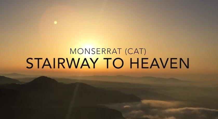 Monserrat (Catalonia) Stairway to Heaven