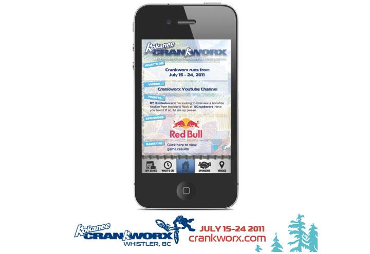Kokanee Crankworx Mobile App