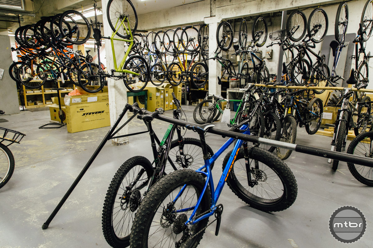The Basement Of Kona HQ Acts As The Warranty/bike Storage/prototype  Assembly/everything Room. This Is What N+1 Looks Like. Complete Bikes,  Vintage Bikes, ...