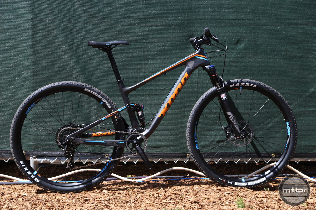 The race version of the Hei Hei is a purebred XC machine.
