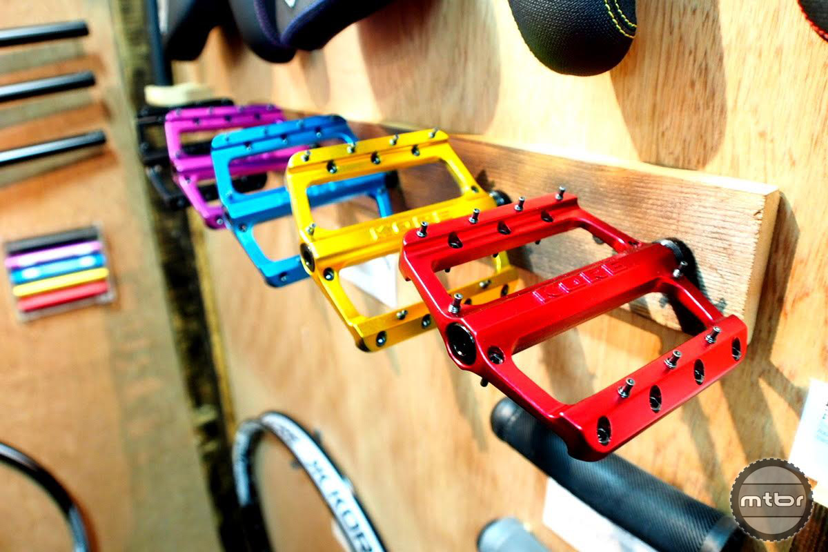 Just like our love affair with flats, the new Kore pedal has its roots in BMX.