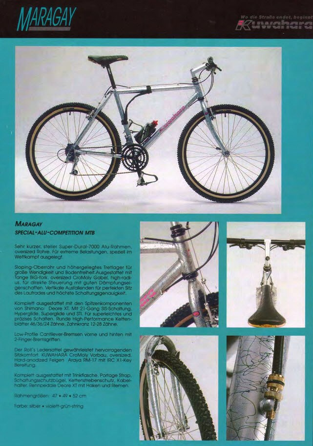 ID spatter paint aluminum frame, please. With Mavic rims, Deore-kuwahara-maragay.jpg