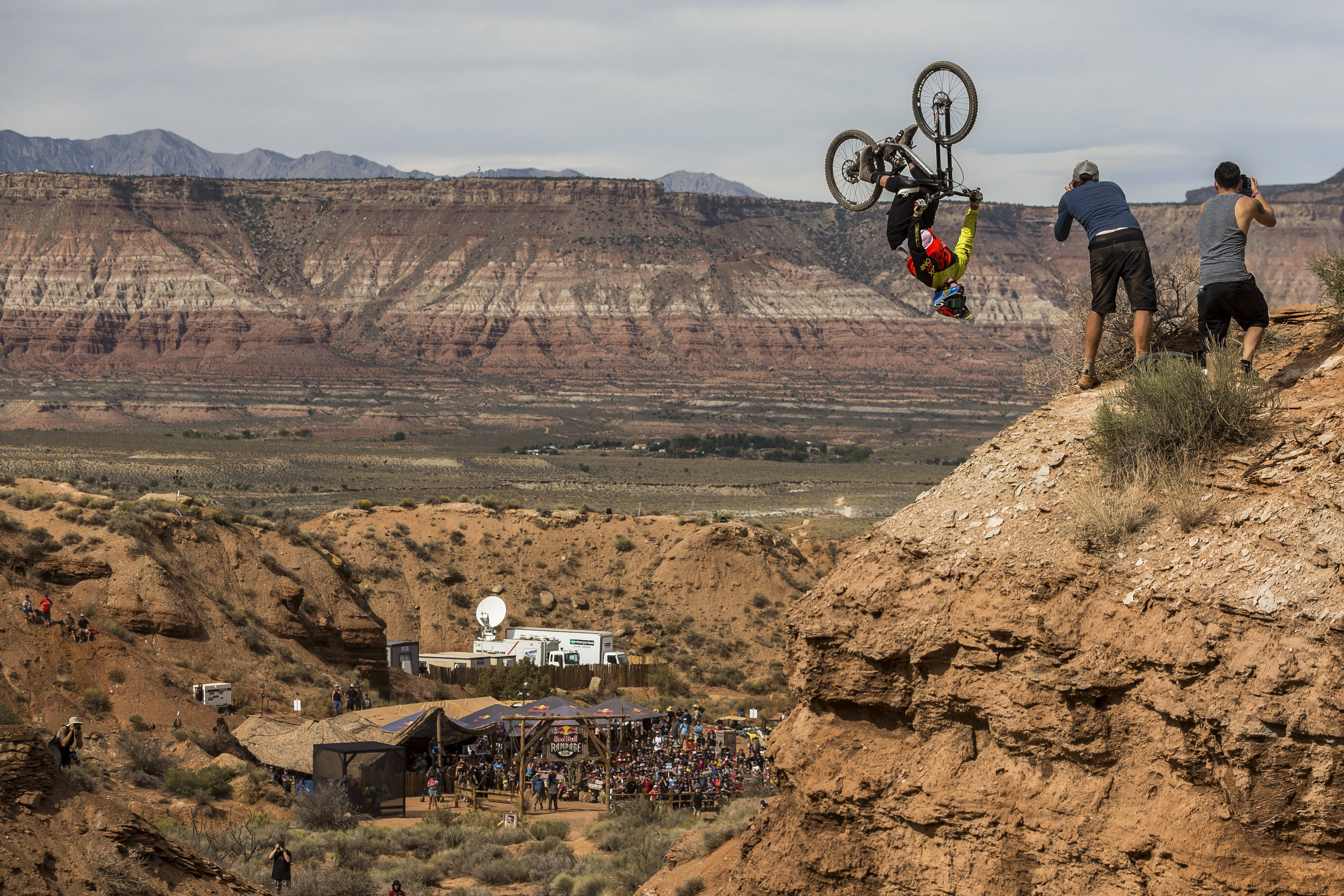 Kyle competed in the first Red Bull Rampage event back in 2001, he was only 14 years old.