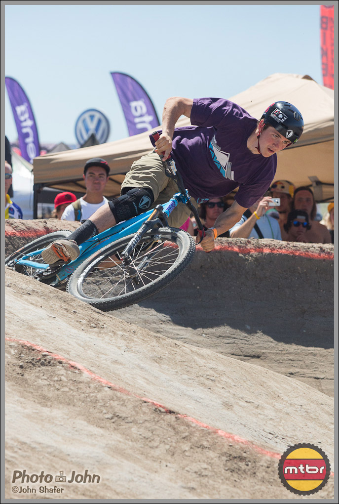Brendan Howey - Coming Out Of A Berm - Sea Otter Speed & Style Comp.