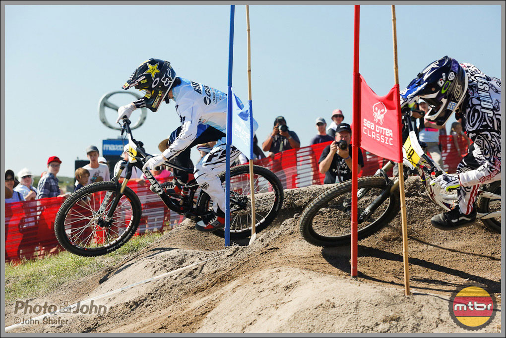 Danny Hart vs. Cody Johnson - 2012 Sea Otter Dual Slalom