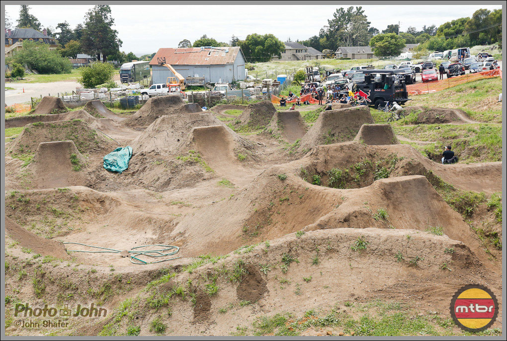 Post Office Dirt Jumps - Aptos, California