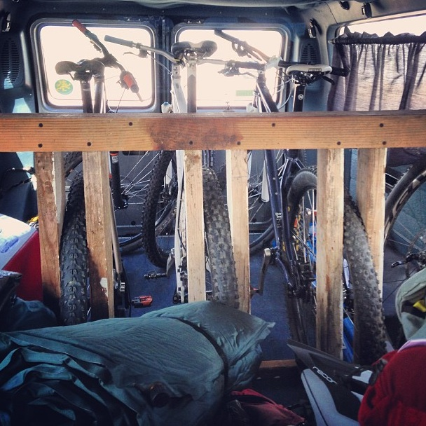 DIY or purchased item to transport bike(s) in van w/o removing front wheel?-ladder-rack.jpg