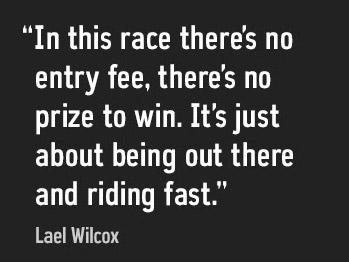 Lael Wilcox Quote