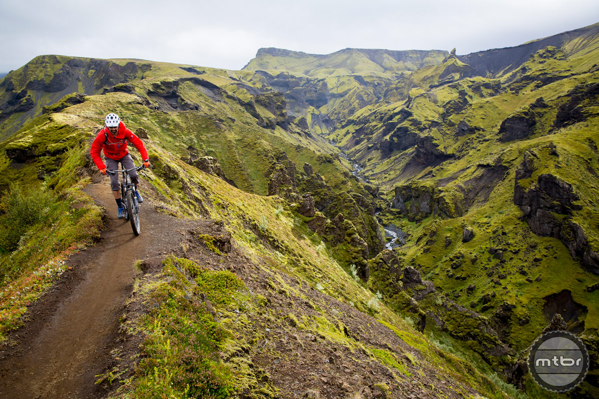 Iceland's Laugavegur Route. Photo courtesy IMBA