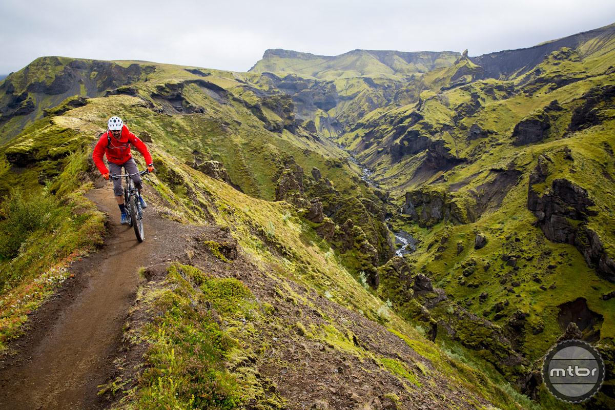 Iceland's Laugavegur Route. Photo courtesy IMBA