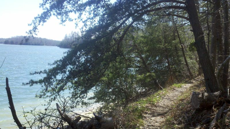 One picture, one line.  No whining. Something about YOUR last ride. [o]-laurellake.jpg