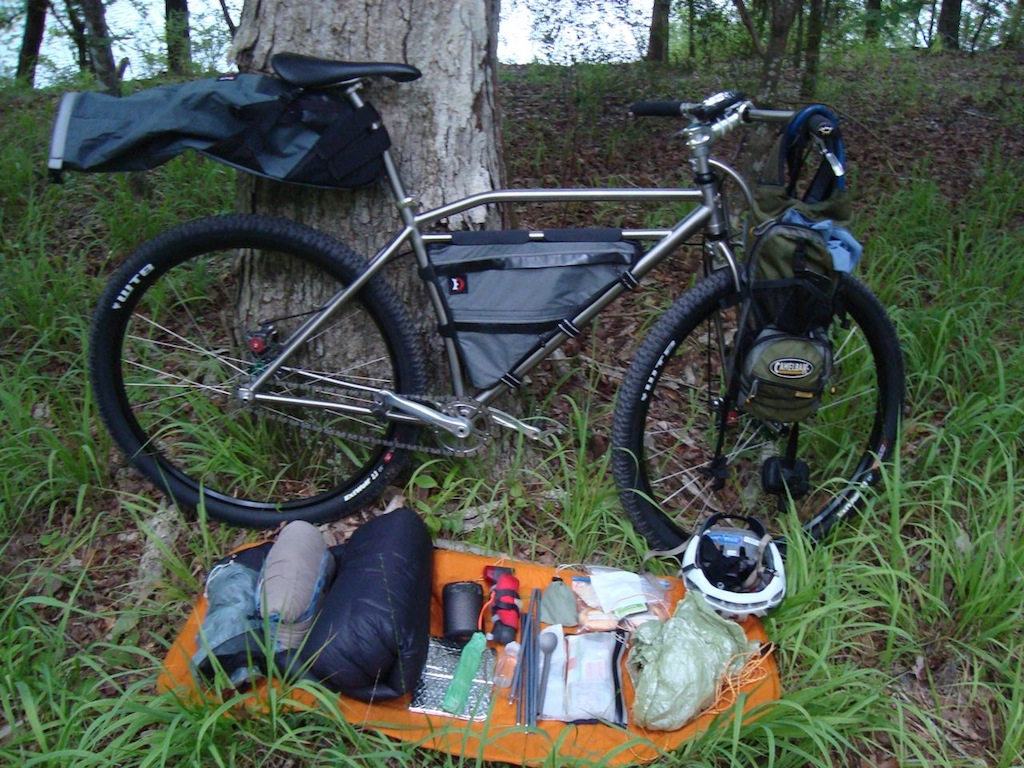 Post your Bikepacking Rig (and gear layout!)-layout.jpg