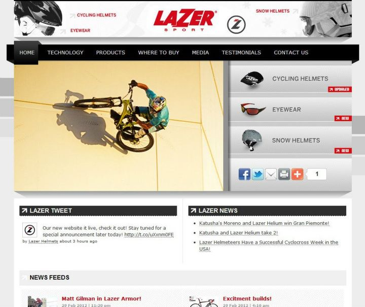 Lazer Website