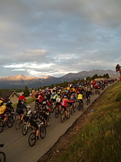 leadville 100 mountain bike start