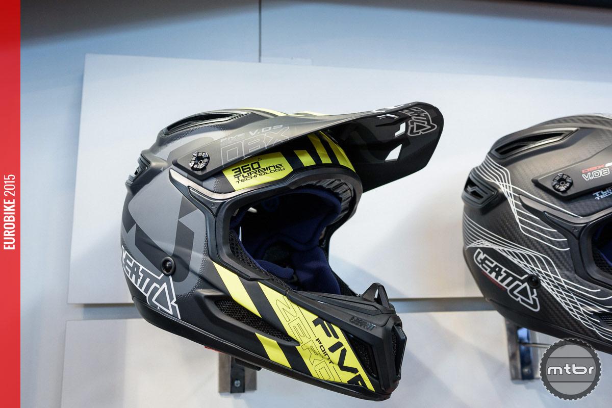 Leatt 5.0 Composite helmet.
