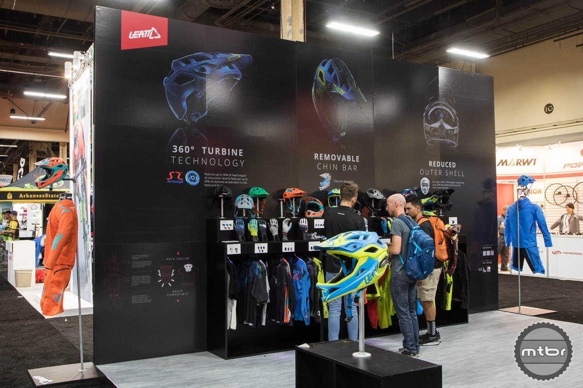 Leatt Interbike 2016 Booth