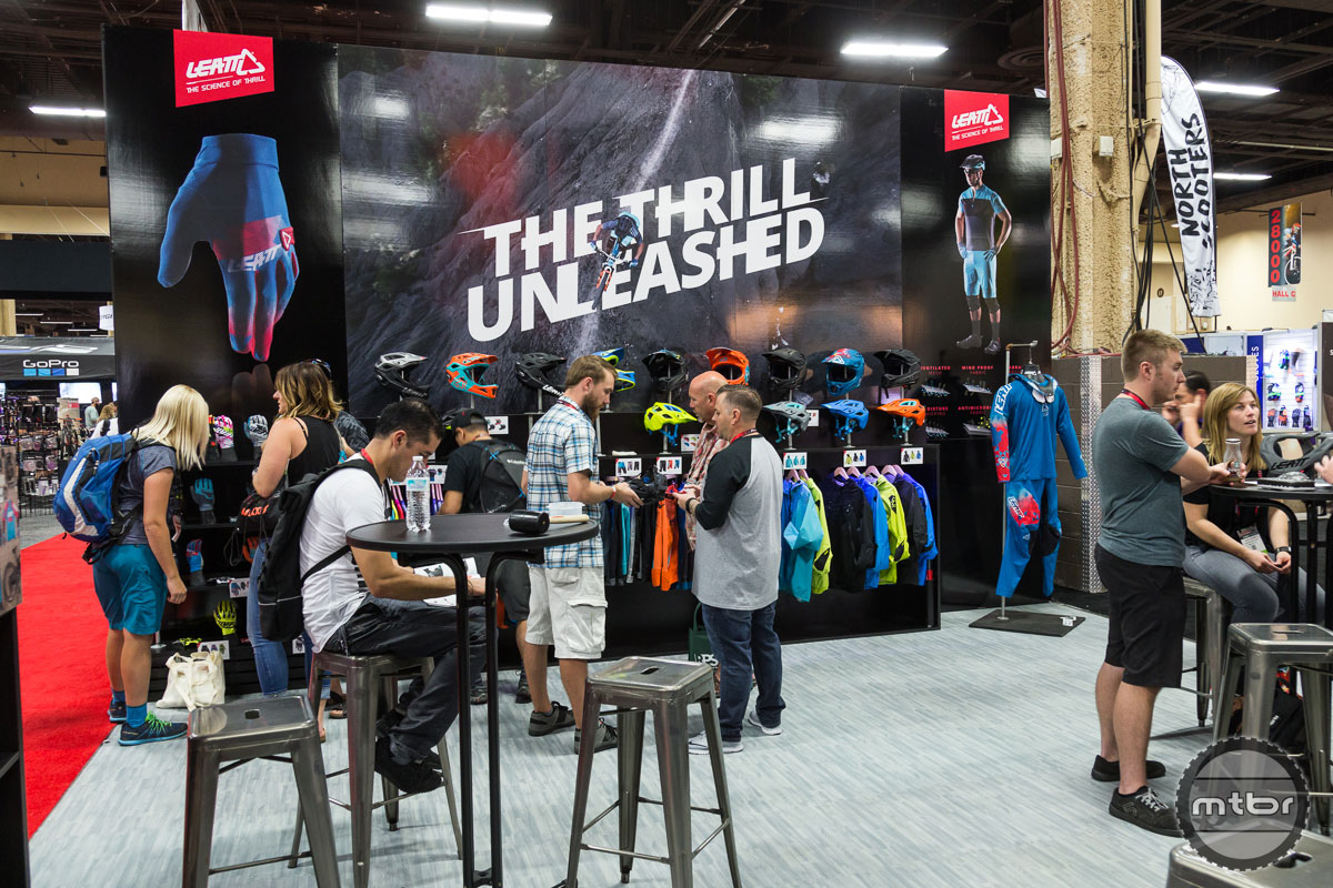 Leatt Interbike 2017 Booth