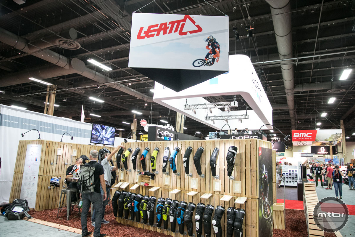 Leatt Interbike 2015 Booth