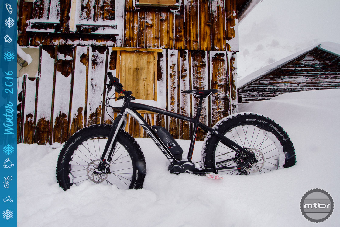 When schlepping ski gear and wearing bulky boots, an electric fat bike is one of the best ways to find fresh snow under your own power.