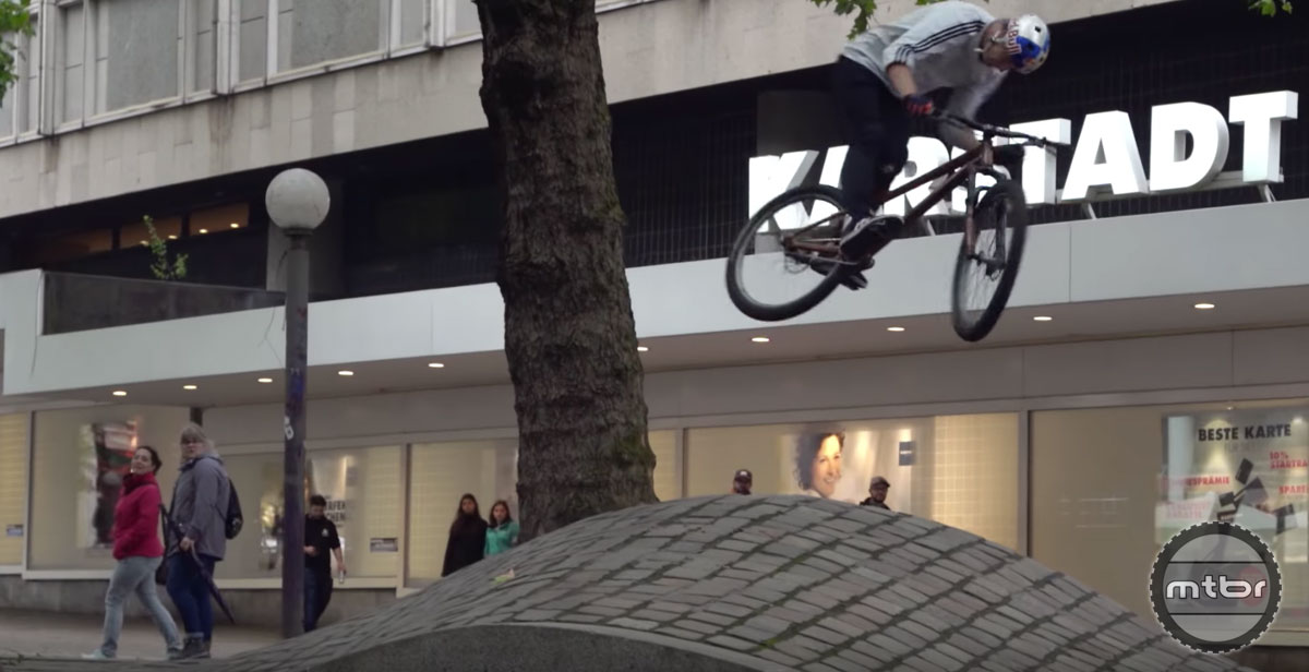 Danny MacAskill and Martin Söderström do Germany