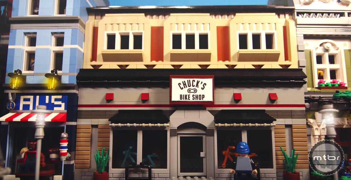 The Lego Bike Shop