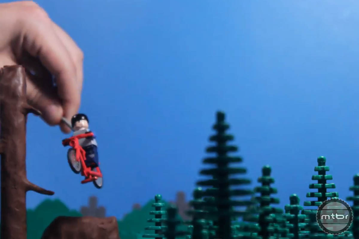A lot of time and effort is involved in bringing Lego men to life.