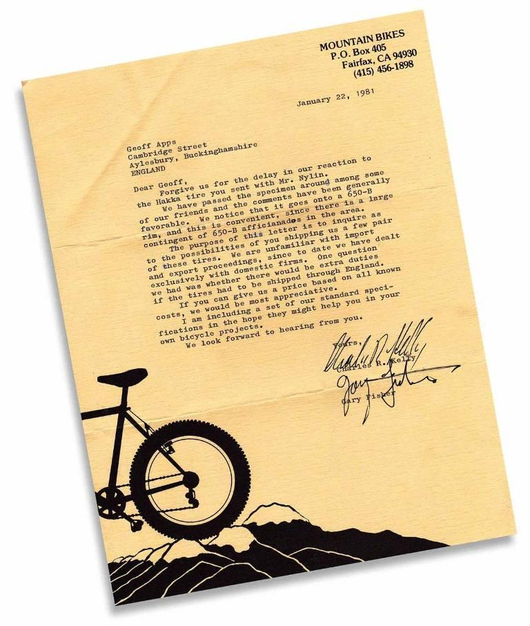 650b Wheelsize as a Mountain Bike Wheel/Tire Combo - Early History questions-letterfromckandgf001a.jpg