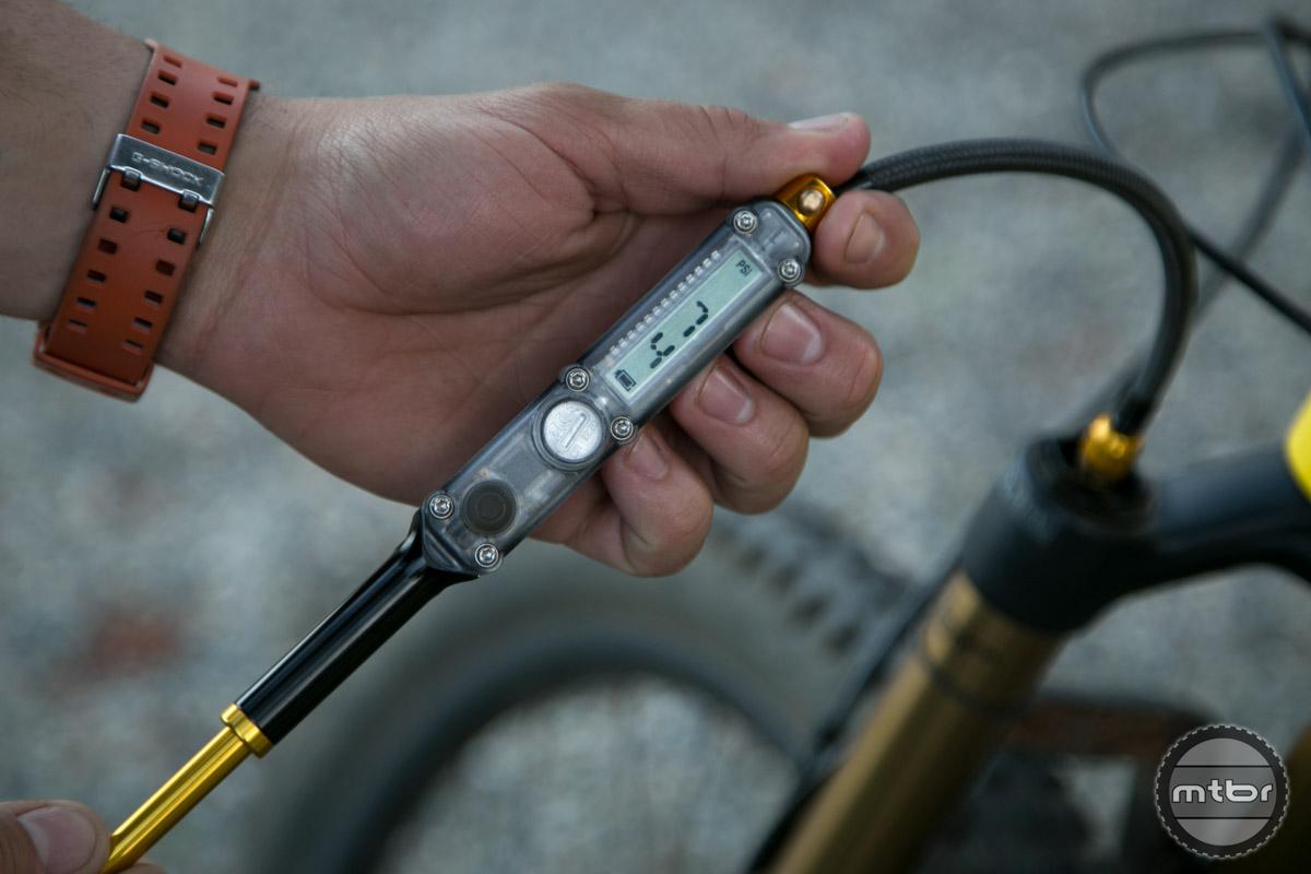 Lezyne Digital Shock Drive Pump