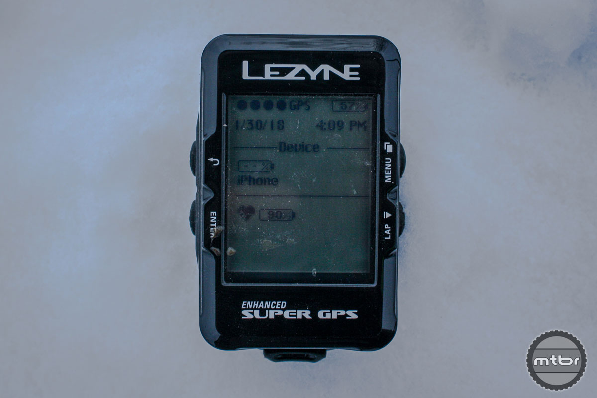 Lezyne Enhanced Super GPS Front