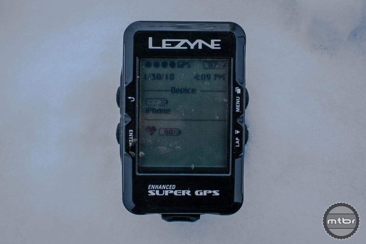 Lezyne Enhanced Super GPS Front