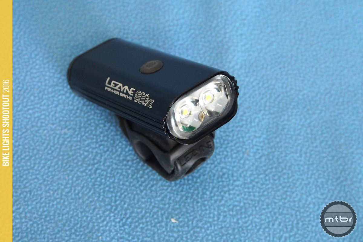 The Lezyne Power Drive 900XL  dual lenses provide a good horizontal beam.