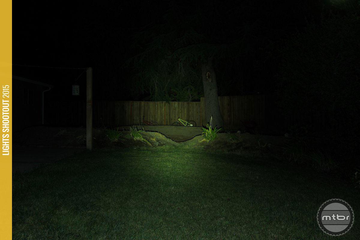 Lezyne Power Drive XL Backyard Beam Pattern